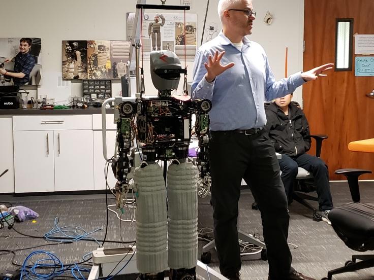 robot kinect